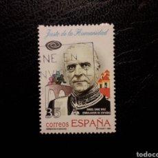 Timbres: ESPAÑA EDIFIL 3606 SELLO SUELTO USADO. JUSTO DE LA HUMANIDAD. ÁNGEL SANZ BRIZ 1998.. Lote 213992158