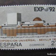 Sellos: -1992, EXPOSICION UNIVERSAL SEVILLA 92, EDIFIL 3155. Lote 214244127