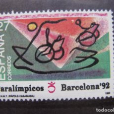 Sellos: -1992, JUEGOS PARALIMPICOS, EDIFIL 3192. Lote 214244722