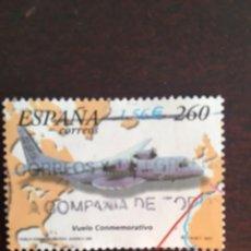 Sellos: SELLO USADO ESPAÑA 2001. EDIFIL SH3790C. AVIACIÓN ESPAÑOLA, PRIMEROS VUELOS. Lote 214378873