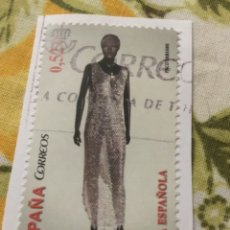 Sellos: SELLO USADO, MODA ESPAÑOLA 2013. 0,52 €.. Lote 214389391