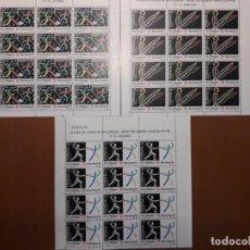 Francobolli: SELLOS ESPAÑA AÑO 1989 MINIPLIEGO MNH NUEVO. Lote 214924817