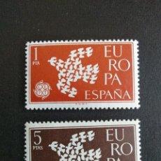 Sellos: SELLOS ESPAÑA OFERTA AÑO 1961 MNH NUEVOS CON GOMA ORIGINAL. Lote 214992642