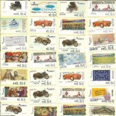 Sellos: 250 ATMS , CON DIVERSOS MOTIVOS , VALORES MÍNIMOS , A FACIAL , ESPAÑA. Lote 215633765