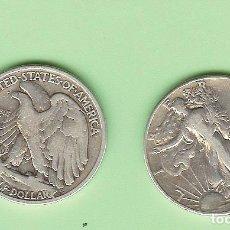Sellos: PLATA-USA. 1/2 DOLLAR 1942. 12,5 GRAMOS DE LEY 0,900. KM#142. Lote 215700915