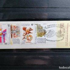 Sellos: LOTE SELLOS ESPAÑA CARNET CEE MATASELLOS CONMEMORATIVO ESPECIAL 1986. Lote 215750115