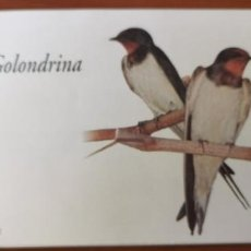 Sellos: 2006-ESPAÑA TALONARIO EDIFIL 4217C GOLONDRINA. CARNET INCOMPLETO CON 26 SELLOS FAUNA Y FLORA. Lote 215818465