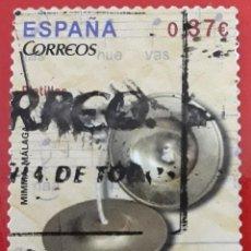 Sellos: SELLO CORREOS ESPAÑA. 2013. INSTRUMENTOS MUSICALES. USADO. Lote 215833023