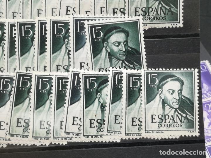 Sellos: LOTE DE 100 SERIES DE 4 SELLOS DIFERENTES. EDIFIL 1071 - 1074. VER FOTOS - Foto 3 - 216438155