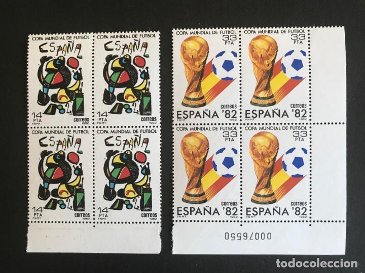 ESPAÑA 1982 EDIFIL 2644/5** MNH BLOQUE DE 4 (Sellos - España - Juan Carlos I - Desde 1.975 a 1.985 - Nuevos)