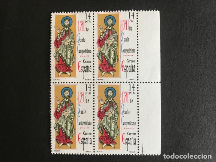 ESPAÑA 1982 EDIFIL 2649** MNH BLOQUE DE 4 (Sellos - España - Juan Carlos I - Desde 1.975 a 1.985 - Nuevos)