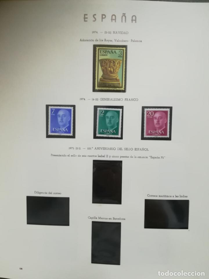 Sellos: ALBUM DE SELLOS. II CENTENARIO. A.OLEGARIO. ESPAÑA. 1974 -1982. SIN FIJASELLOS. EL DE LA FOTOS - Foto 9 - 216529878
