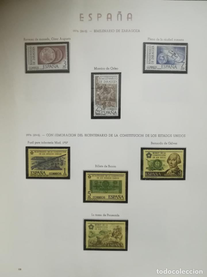 Sellos: ALBUM DE SELLOS. II CENTENARIO. A.OLEGARIO. ESPAÑA. 1974 -1982. SIN FIJASELLOS. EL DE LA FOTOS - Foto 12 - 216529878