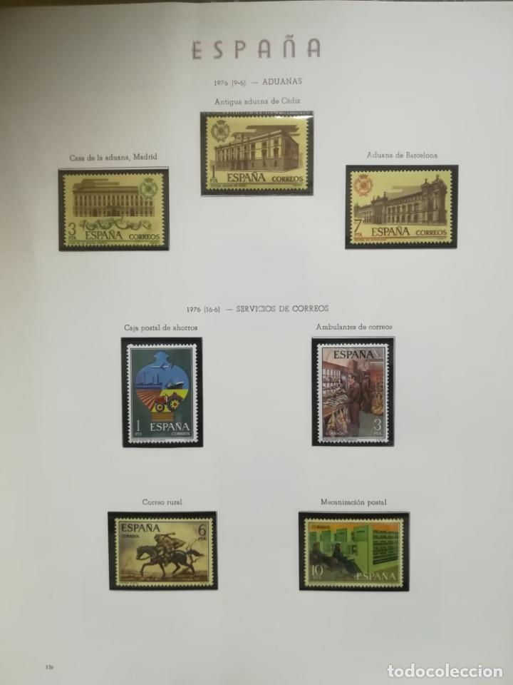 Sellos: ALBUM DE SELLOS. II CENTENARIO. A.OLEGARIO. ESPAÑA. 1974 -1982. SIN FIJASELLOS. EL DE LA FOTOS - Foto 13 - 216529878