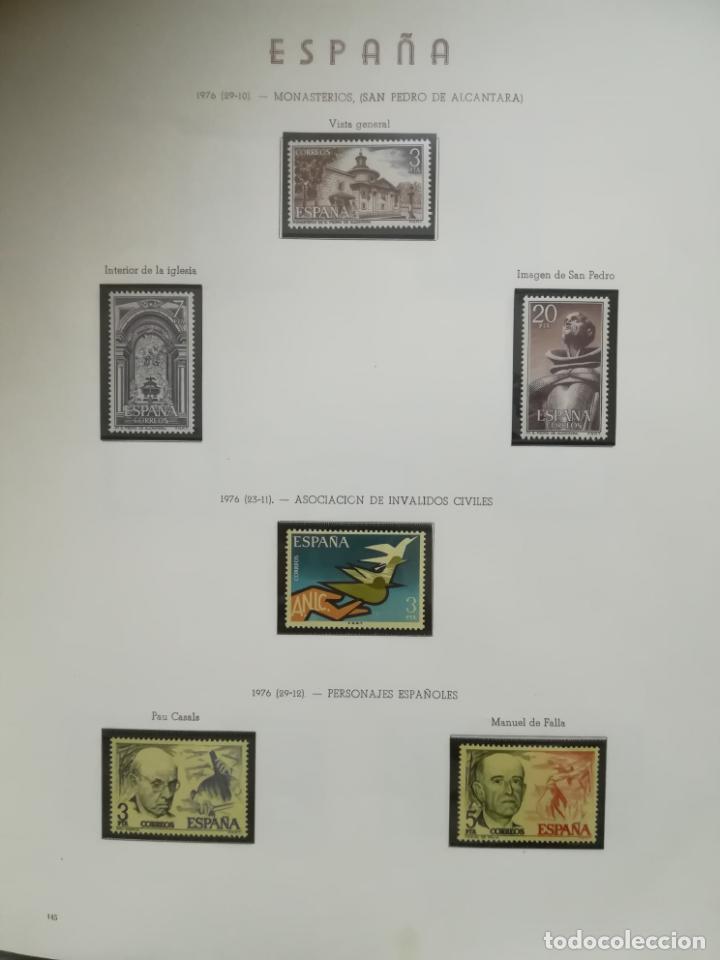 Sellos: ALBUM DE SELLOS. II CENTENARIO. A.OLEGARIO. ESPAÑA. 1974 -1982. SIN FIJASELLOS. EL DE LA FOTOS - Foto 20 - 216529878
