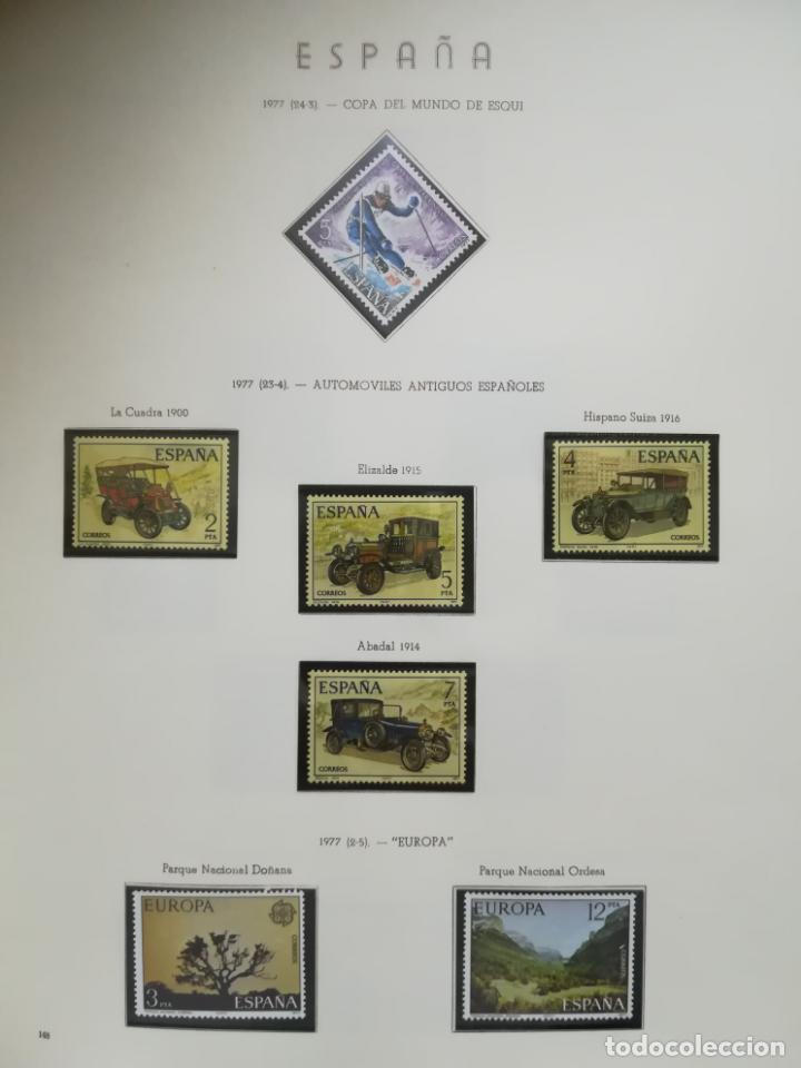 Sellos: ALBUM DE SELLOS. II CENTENARIO. A.OLEGARIO. ESPAÑA. 1974 -1982. SIN FIJASELLOS. EL DE LA FOTOS - Foto 22 - 216529878