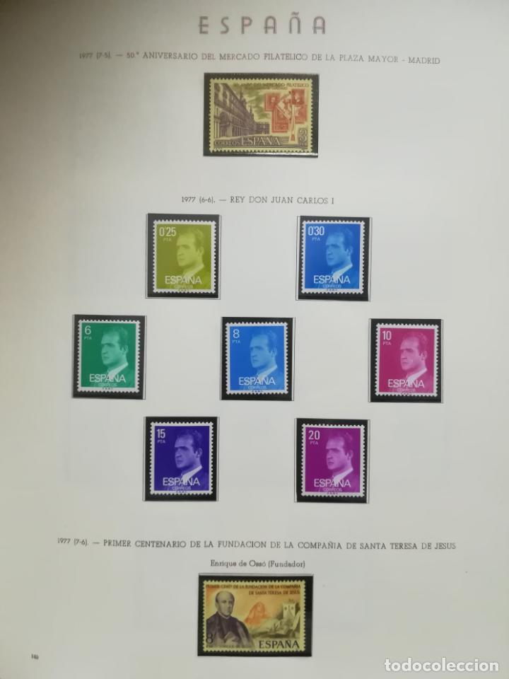 Sellos: ALBUM DE SELLOS. II CENTENARIO. A.OLEGARIO. ESPAÑA. 1974 -1982. SIN FIJASELLOS. EL DE LA FOTOS - Foto 24 - 216529878