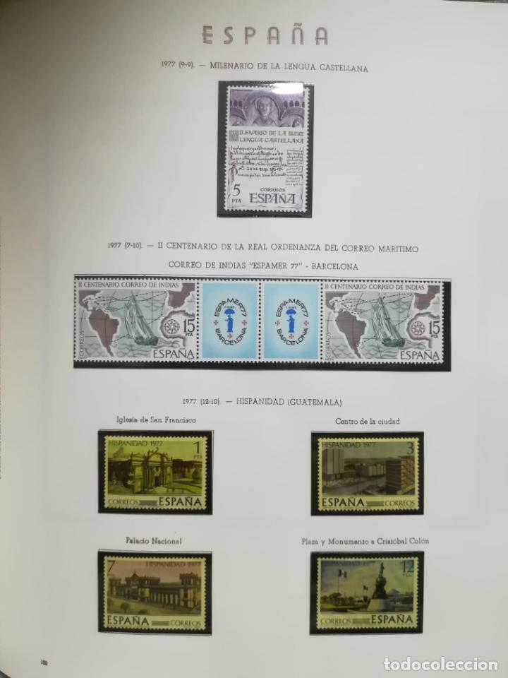 Sellos: ALBUM DE SELLOS. II CENTENARIO. A.OLEGARIO. ESPAÑA. 1974 -1982. SIN FIJASELLOS. EL DE LA FOTOS - Foto 26 - 216529878