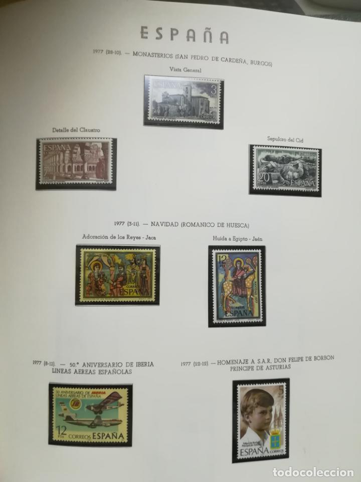 Sellos: ALBUM DE SELLOS. II CENTENARIO. A.OLEGARIO. ESPAÑA. 1974 -1982. SIN FIJASELLOS. EL DE LA FOTOS - Foto 28 - 216529878