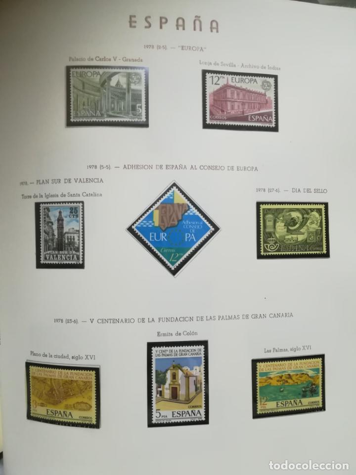 Sellos: ALBUM DE SELLOS. II CENTENARIO. A.OLEGARIO. ESPAÑA. 1974 -1982. SIN FIJASELLOS. EL DE LA FOTOS - Foto 32 - 216529878