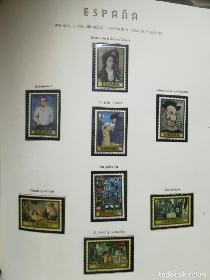 Sellos: ALBUM DE SELLOS. II CENTENARIO. A.OLEGARIO. ESPAÑA. 1974 -1982. SIN FIJASELLOS. EL DE LA FOTOS - Foto 33 - 216529878