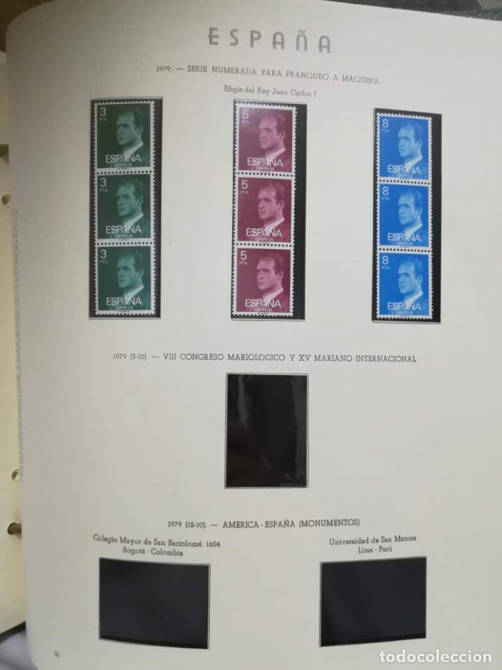 Sellos: ALBUM DE SELLOS. II CENTENARIO. A.OLEGARIO. ESPAÑA. 1974 -1982. SIN FIJASELLOS. EL DE LA FOTOS - Foto 36 - 216529878