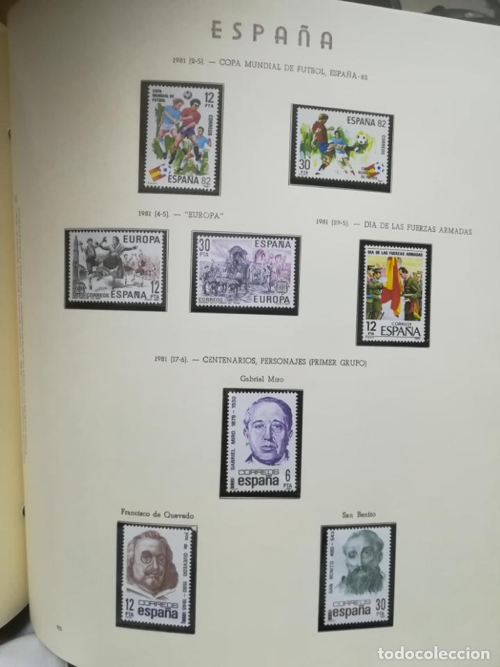 Sellos: ALBUM DE SELLOS. II CENTENARIO. A.OLEGARIO. ESPAÑA. 1974 -1982. SIN FIJASELLOS. EL DE LA FOTOS - Foto 38 - 216529878