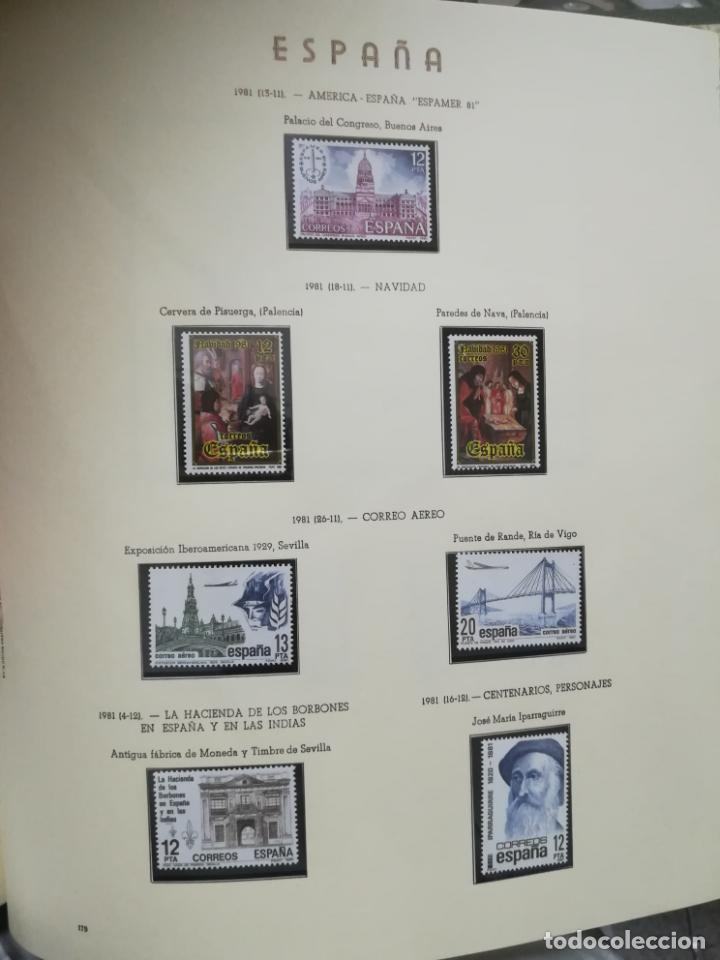 Sellos: ALBUM DE SELLOS. II CENTENARIO. A.OLEGARIO. ESPAÑA. 1974 -1982. SIN FIJASELLOS. EL DE LA FOTOS - Foto 42 - 216529878
