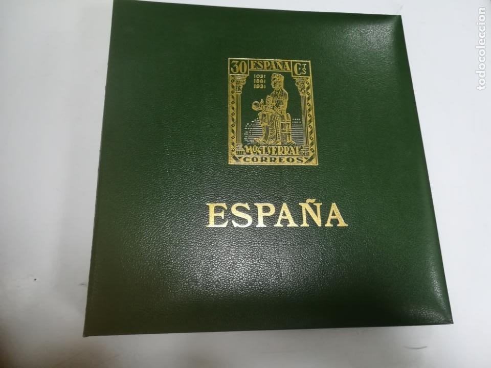 ALBUM DE SELLOS. II CENTENARIO. A.OLEGARIO. ESPAÑA. 1974 -1982. SIN FIJASELLOS. EL DE LA FOTOS (Sellos - España - Juan Carlos I - Desde 1.975 a 1.985 - Nuevos)