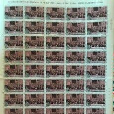 Sellos: 50 SELLOS: 1996. EDIFIL 3406/7**MNH. CINE ESPAÑOL. SALIDA DE MISA DEL PILAR. Lote 216907601