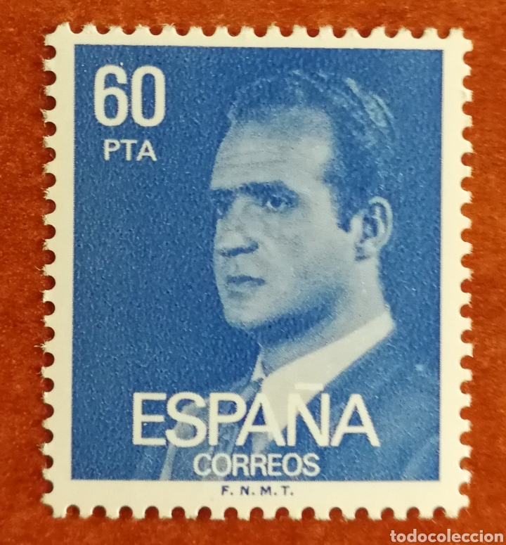 ESPAÑA, N°2602P. REY FLUOR MNH (FOTOGRAFÍA REAL) (Sellos - España - Juan Carlos I - Desde 1.986 a 1.999 - Nuevos)