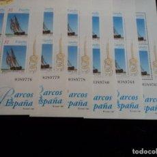 Sellos: 12 HOJITAS BLOQUE (6+6) Nº 3477/8 (EDIFIL). AÑO 1997. BARCOS DE ÉPOCA.. Lote 103121495