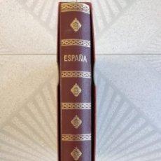 Sellos: ESPAÑA AÑOS 1979 1980 1981 1982 1983 EN BLOQUE DE 4 CON ALBUM Y HOJAS EDIFIL HEBS70 HEBS80 EBY. Lote 217278347