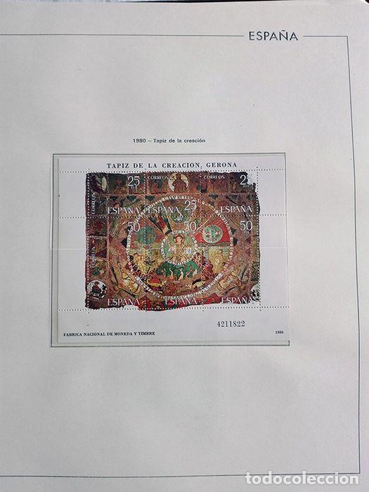 Sellos: España años 1979 1980 1981 1982 1983 en bloque de 4 con Album y Hojas Edifil HEBS70 HEBS80 EBY - Foto 37 - 217278347