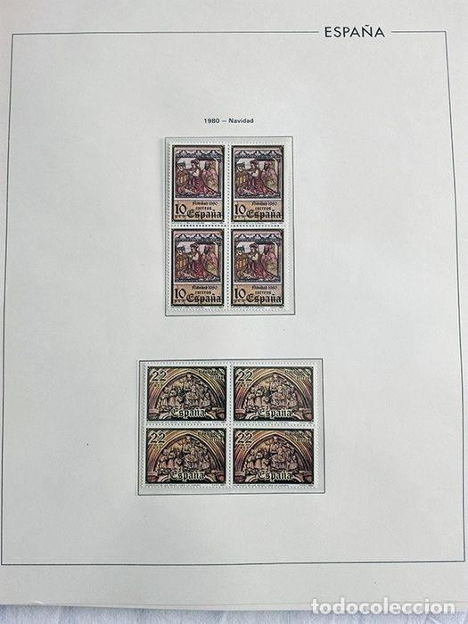 Sellos: España años 1979 1980 1981 1982 1983 en bloque de 4 con Album y Hojas Edifil HEBS70 HEBS80 EBY - Foto 57 - 217278347