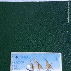 Sellos: 1 ATM BARCOS DE EPOCA. FRANQUEO EN PESETAS. Lote 217382296