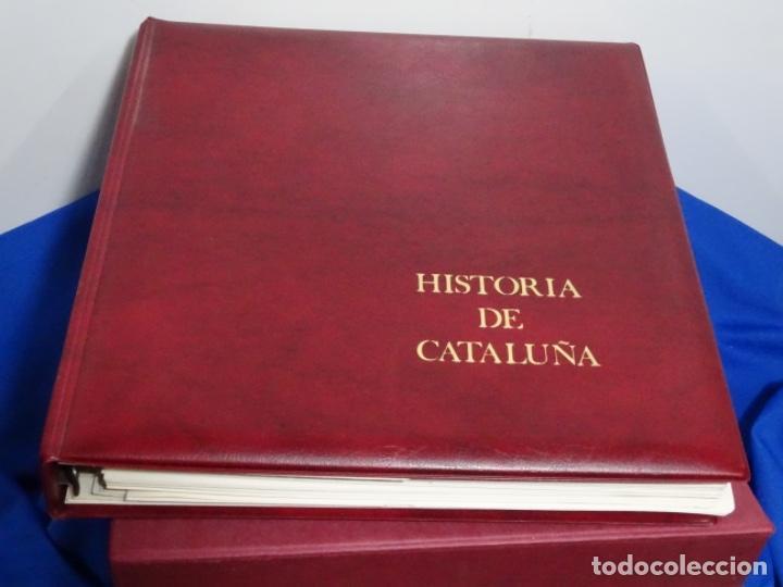 ALBUM SELLOS DE LA HISTORIA DE CATALUÑA. (Sellos - España - Juan Carlos I - Desde 1.986 a 1.999 - Nuevos)