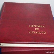 Sellos: ALBUM SELLOS DE LA HISTORIA DE CATALUÑA.. Lote 217389010
