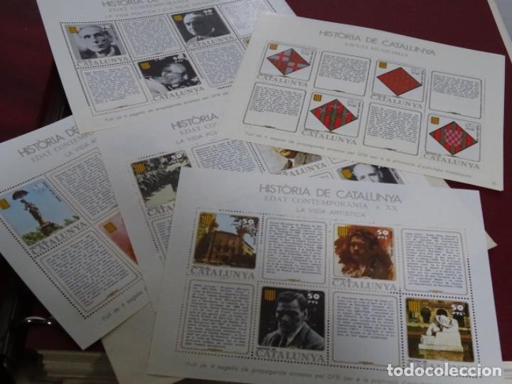 Sellos: Album sellos de la historia de cataluña. - Foto 2 - 217389010