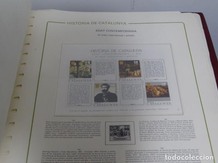 Sellos: Album sellos de la historia de cataluña. - Foto 4 - 217389010