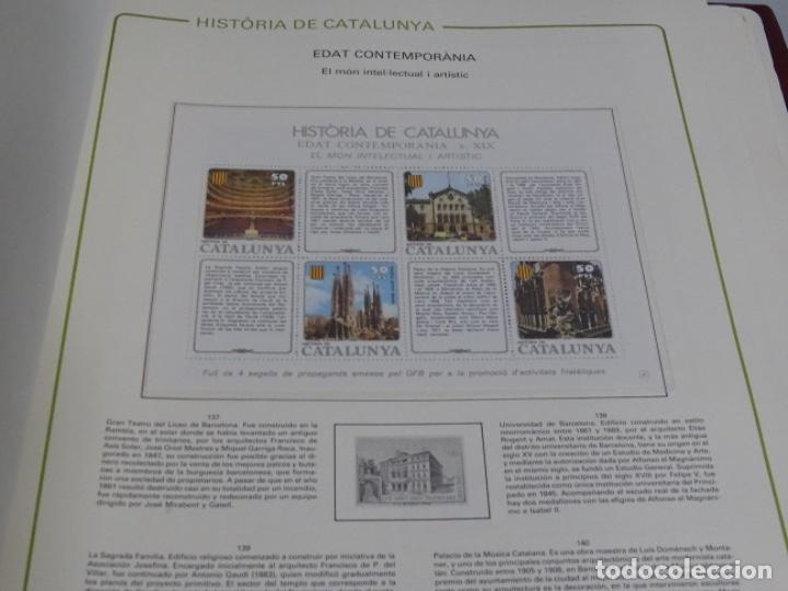 Sellos: Album sellos de la historia de cataluña. - Foto 5 - 217389010