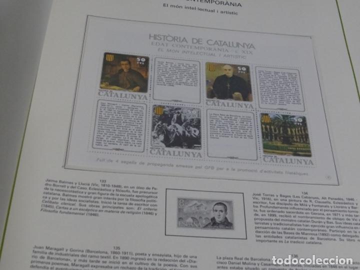 Sellos: Album sellos de la historia de cataluña. - Foto 6 - 217389010