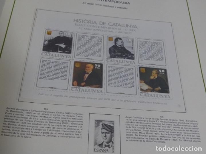 Sellos: Album sellos de la historia de cataluña. - Foto 7 - 217389010
