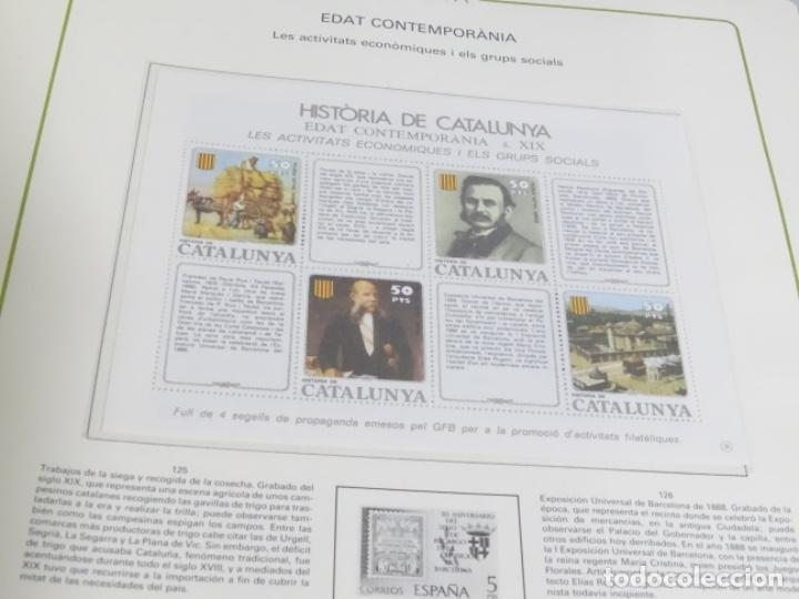 Sellos: Album sellos de la historia de cataluña. - Foto 8 - 217389010