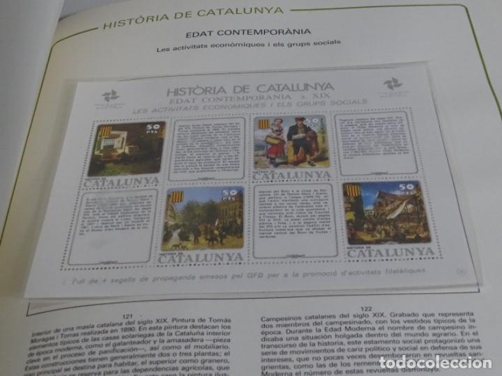 Sellos: Album sellos de la historia de cataluña. - Foto 9 - 217389010