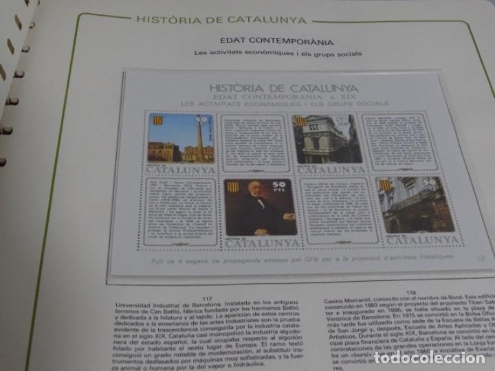 Sellos: Album sellos de la historia de cataluña. - Foto 10 - 217389010