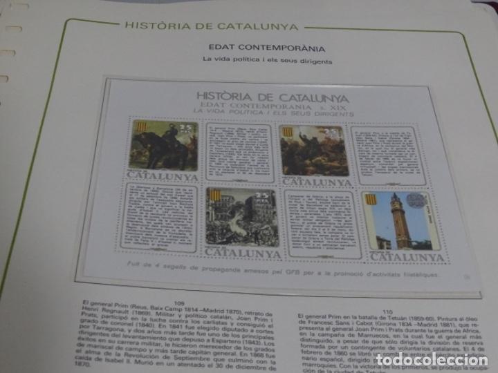 Sellos: Album sellos de la historia de cataluña. - Foto 12 - 217389010