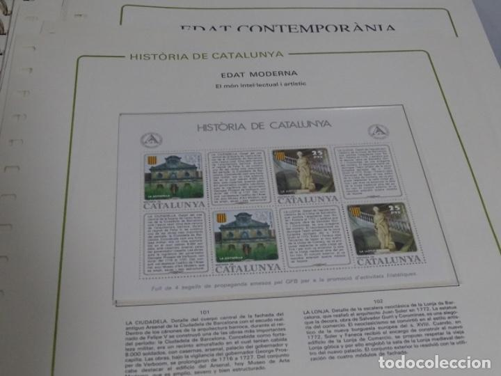 Sellos: Album sellos de la historia de cataluña. - Foto 15 - 217389010