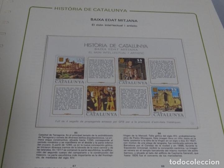 Sellos: Album sellos de la historia de cataluña. - Foto 19 - 217389010