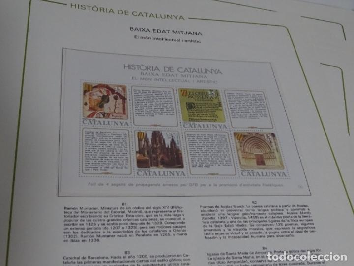 Sellos: Album sellos de la historia de cataluña. - Foto 20 - 217389010